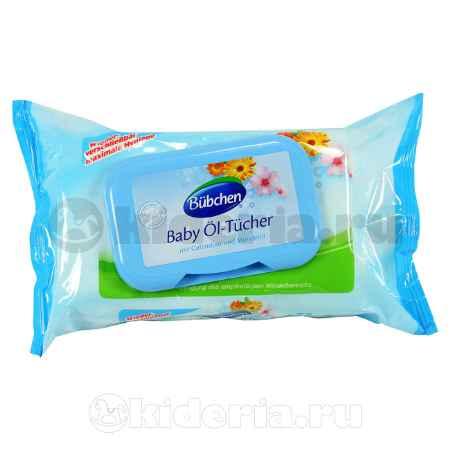 Купить Bubchen Очищающие салфетки промасленные