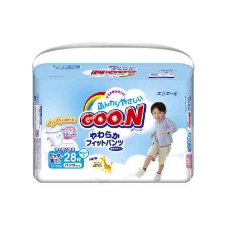 Купить GooN Трусики Goon для мальчиков 13-25 кг (28 шт) Размер SPB