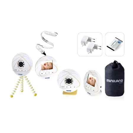 Купить Miniland Видеоняня Miniland цифровая Digi с монитором 2.4'' до 150 м.