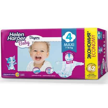 Купить Helen Harper Подгузники Helen Harper Baby Maxi 7-18 кг. (62 шт.) Размер 4