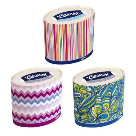Купить Kleenex Бумажные салфетки Kleenex DECOR 3-х слойные 64 шт