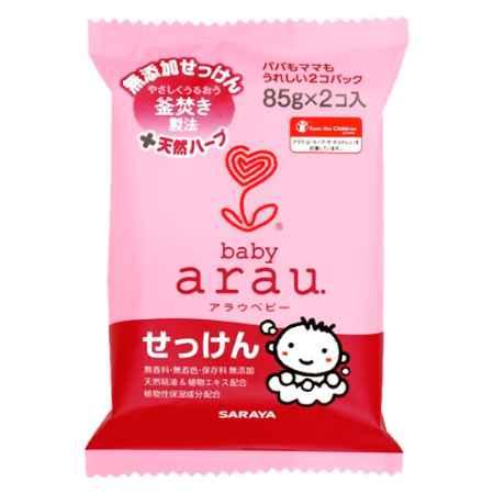 Купить Saraya ( Япония ) Туалетное мыло Saraya 85 г. (2 шт. в единой мягкой упаковке)