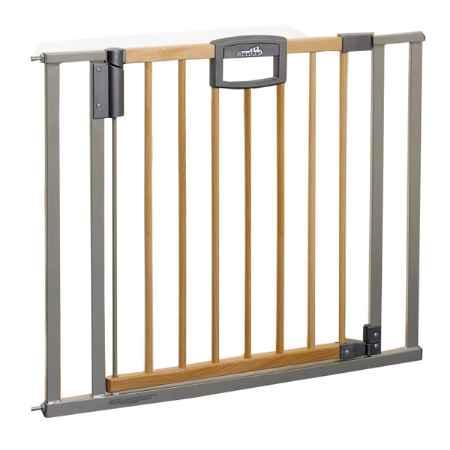 Купить Geuther Ворота безопасности Easy Lock Wood 80,5-88,5х82,5cм