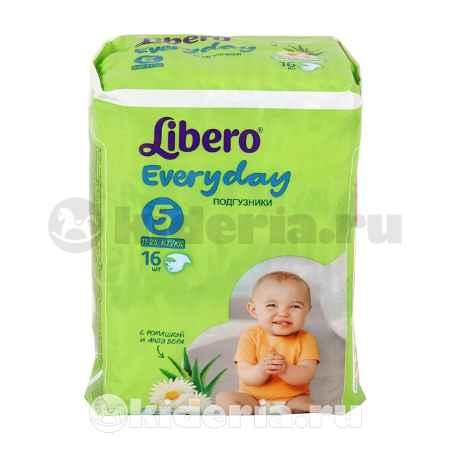 Купить Libero Подгузники Libero Everyday с ромашкой, XL, 11-25 кг