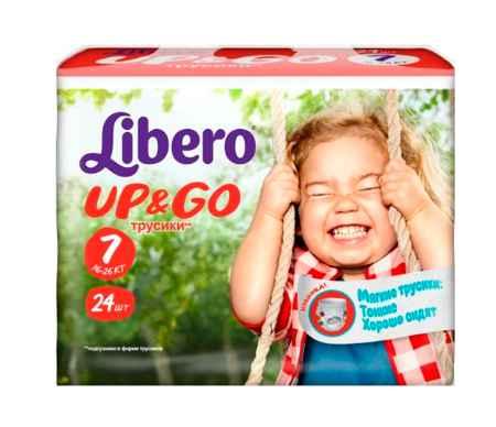 Купить Libero Подгузники-трусики Up&Go Econom (16-26 кг) 24 шт.