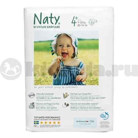 Купить Naty Подгузники Размер 4+ (9-20 кг)