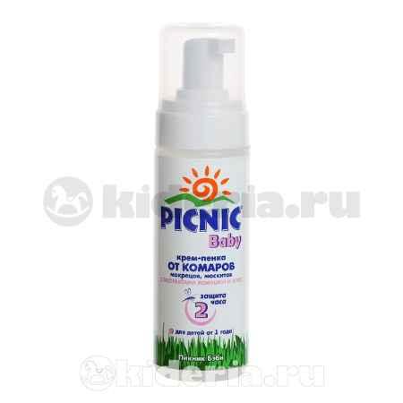 Купить Picnic Крем-пенка от комаров  Baby, с 12 мес