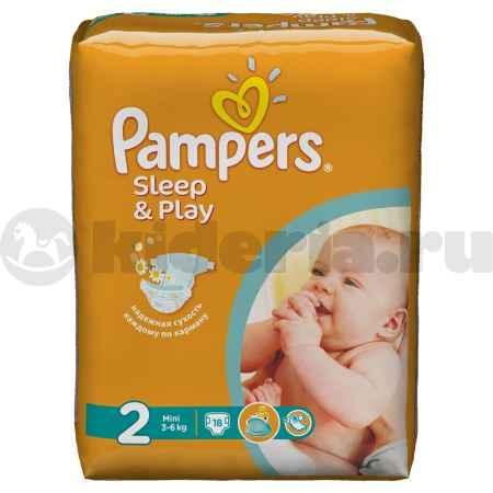 Купить Pampers Подгузники Sleep & Play Mini, 3-6 кг