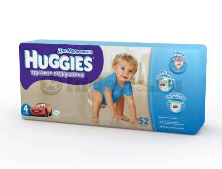 Купить Huggies Подгузники-трусики для мальчиков 4, 9-14 кг