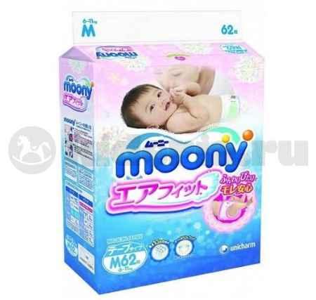 Купить Moony Подгузники 6-11 кг