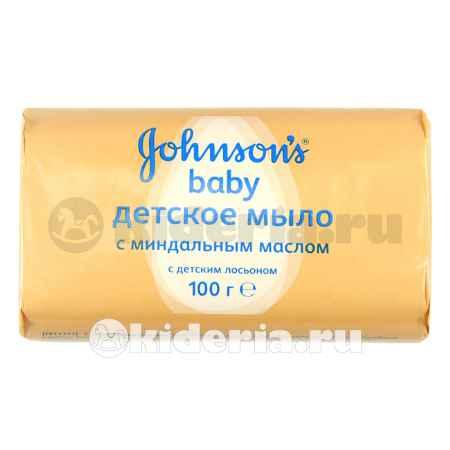 Купить Johnson's baby Мыло с миндальным маслом, 100 гр.