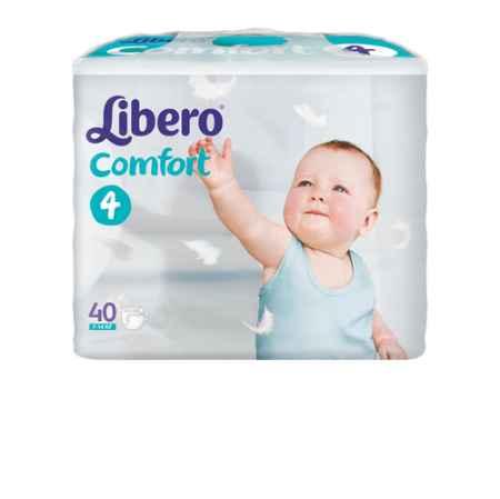 Купить Libero Подгузники Comfort (7-14 кг) 40 шт.