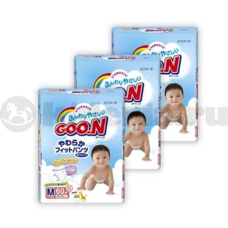 Купить Goon Набор подгузников 4-8 кг и 6-11 кг