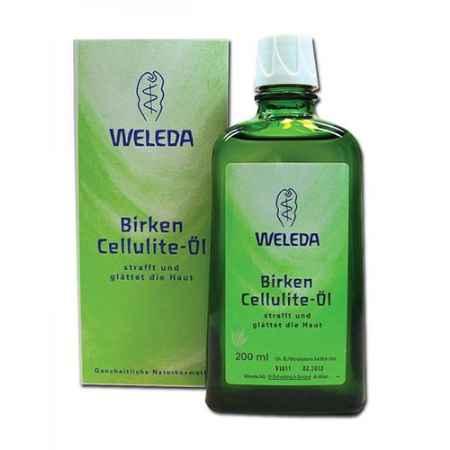 Купить Weleda Березовое антицеллюлитное масло 200 мл