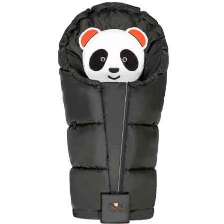 Купить Mansita Конверт флисовый Mansita Panda (45 * 98 см) Черный