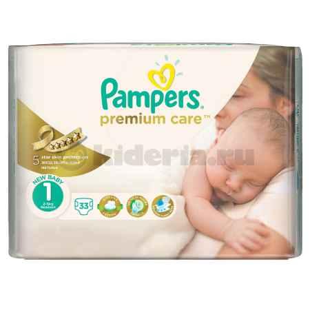 Купить Pampers Подгузники Premium Care 1 (2-5 кг)