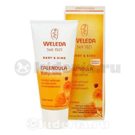 Купить Weleda Крем для младенцев с календулой для защиты кожи в области пеленания