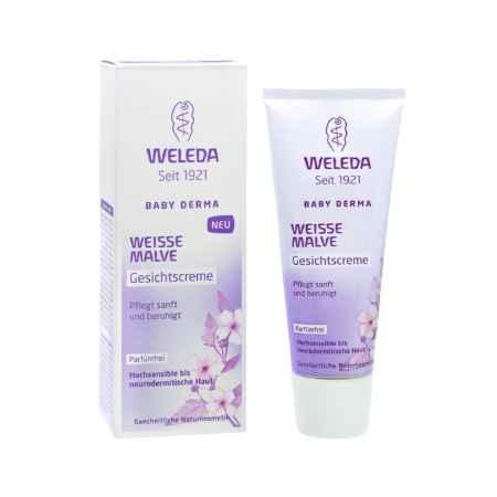 Купить Weleda Weleda Baby Derma для гиперчувствительной кожи Крем для лица с алтеем 50 мл.