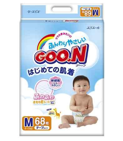 Купить GooN Подгузники M (6-11 кг) 68 шт.