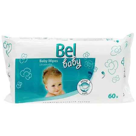 Купить Hartmann Салфетки влажные Hartmann Bel Baby Ultrasensitive для чувствительной кожи 60 шт