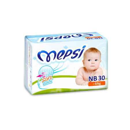 Купить Mepsi Подгузники Mepsi до 6 кг (30 шт) Размер NB