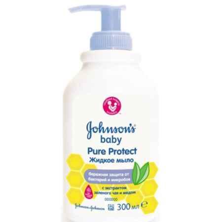 "Купить Johnson*s Johnson's baby Baby ""Pure Protect"" Жидкое мыло для рук (с 12 мес) 300 мл"