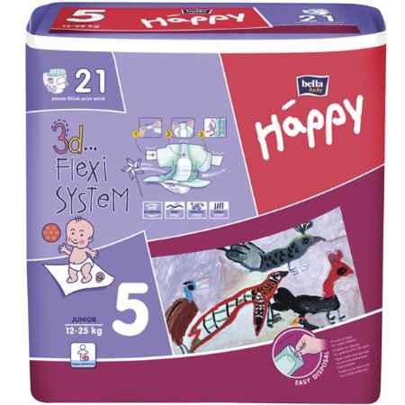Купить Bella Baby Happy Подгузники Bella Baby Happy Junior 12-25 кг (21 шт)