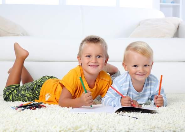 Какой ковер лучше для ребенка