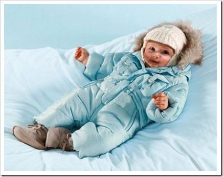 Крой и модели зимней одежды для самых маленьких