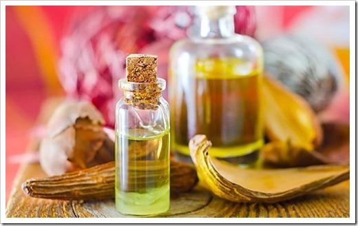 Различные компоненты для массажного масла