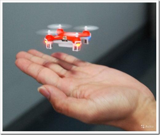 Что такое миниквадрокоптер?