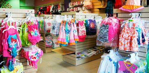 Открыть магазин детской одежды