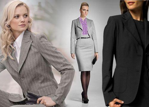 Женщины в пиджаках