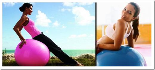 Мячи для фитнеса – время худеть и оздоравливаться