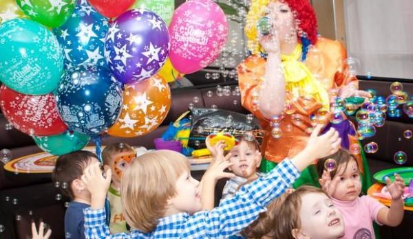 Как устроить праздник ребенк