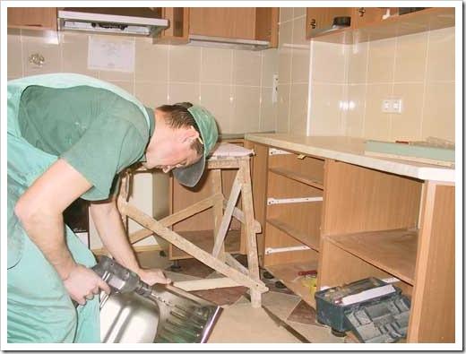 Сборка кухонной мебели своими руками от а до я