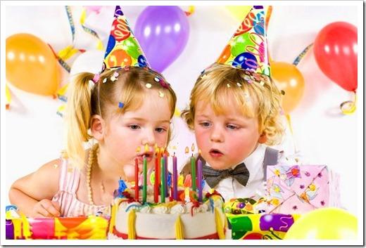 Отличные детские дни рождения от компании Baby's time