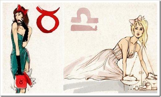 Платье по знаку зодиака