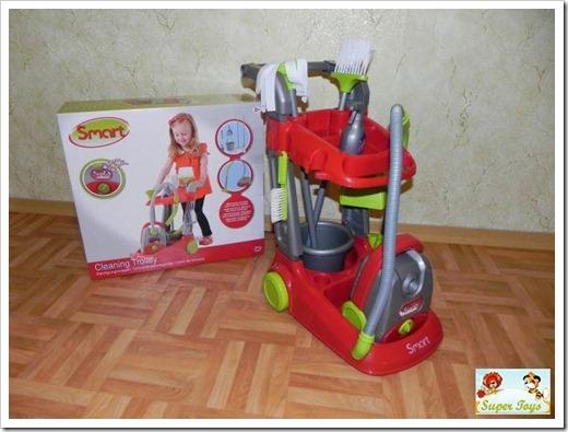 Обучение ребёнка уборке