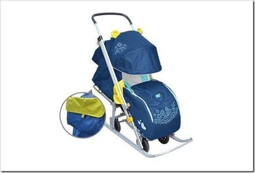 Универсальные санки - коляска для малышей от года