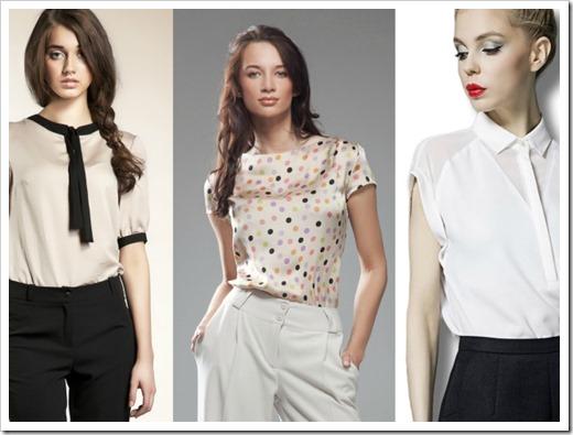 Блузки: особенности, разновидности