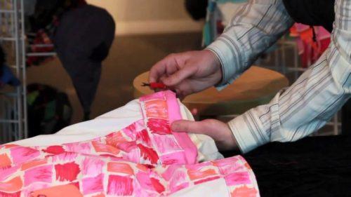 Как удлинить детский комбинезон в ногах