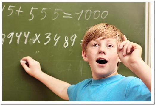 Какие существуют виды заданий в математике?