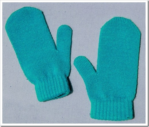 Методика вязки детских рукавиц