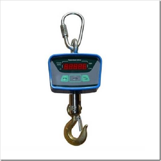 Пульт ДУ, аккумулятор и класс точности крановых весов