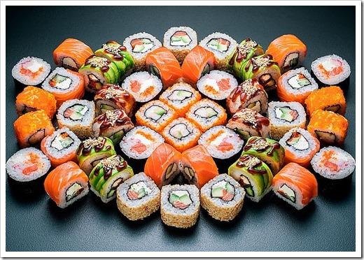По каким критериям собираются суши-сеты?